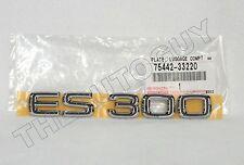 2002 2003 GENUINE LEXUS CHROME ES300 NAME LETTERS EMBLEM-NEW 75442-33220