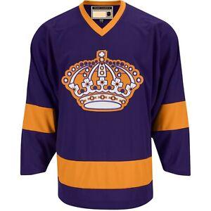 Men's Los Angeles Kings Fanatics Brand Premier Breakaway Heritage Purple Jersey