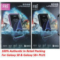 Authentic Lifeproof WaterProof Case For Samsung Galaxy S8 & S8+ Retail Packing