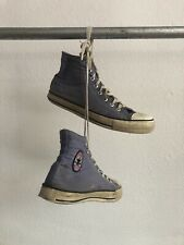 Vintage Converse Made In Usa Mens 9.5 Purple Thrashed