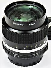 * Mint * Nikon 35mm F2.0 Ai-s For F3 Fm2 Fe2 F2 D700 D600 Fm3A D750