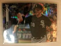 2020 Topps Chrome Prism Refractor Zack Collins Rookie RC #87 Chicago White Sox