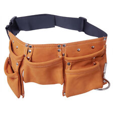 Children Garden Tool Bag Waist Bag Suede Leather Kids Tool Pouch Bag Belt