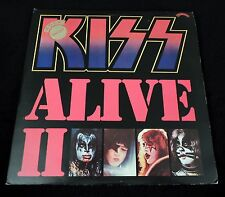 1977 KISS ALIVE II RED VINYL UNPLAYED UK PYE WITH ALL INSERTS !!!