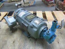 """Baldor .5Hp Motor W/ 1/2"""" Pump #46337J Fr:56Yz 208-230/460V 1725:Rpm Repaired"""