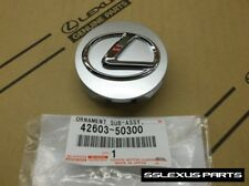 Lexus (2008-2015) OEM Genuine LIGHT SILVER / GRAY CENTER CAP (x1) 42603-50300