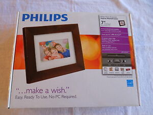 Philips 7'' LCD Digital Photo Frame SPF3470/G7 - NEW - FREE SHIPPING
