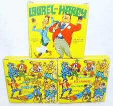 3x AVO Film SUPER 8 35mm LAUREL & HARDY TV Movie Comic Color MIB`70 RARE!