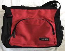 LANDS END Do It All Diaper Bag, Red Black, Large, Pockets!!
