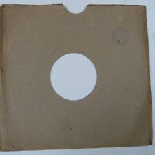 "10"" 78rpm gramophone record sleeve M J S ACCESSORIES 19 Le Richmond Rd Putney"