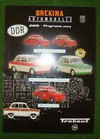BREKINA  >> DDR-Programm 2004 <<   Topzustand   4 Seiten   D21