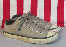 Vintage 1940s Converse Chuck Taylor Sneakers Reissue Military Athletic Sz 10.5