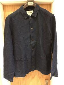 Mens Pull & Bear Work Shirt Jacket Size Large