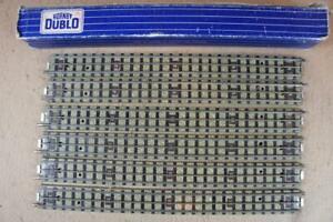Hornby Dublo 3 rail boxed EDB1 straight rails x 6 in excellent condition