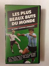 K7 VIDEO VHS LES PLUS BEAUX BUTS DU MONDE DE BOBBY CHARLTON A MARADONA
