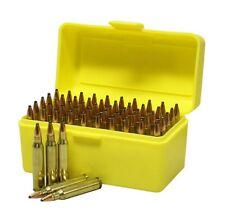 Ammo Box 50rnd Ammunition Safe Storage Gun Rifle Bullet Case 204 222 223 Rifle