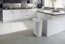Pedal Bin Large 50 Litre Kitchen Waste Rubbish Paper Trash Home Office Dust Bins