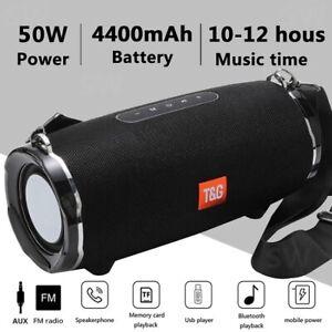 BOGO! Buy One Get One Free! 50W High Power Bluetooth Speaker TG187 Waterproof