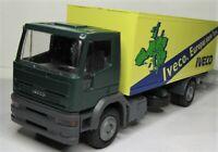 Liebhaber 1:43 Iveco EuroTech Koffer LKW mit Hebebühne OVP 2371 Europa