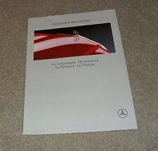Mercedes Benz Exteior Colour Guide Brochure 1991 - SL R129 W124 190