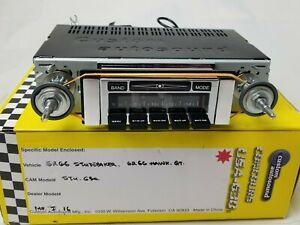 62 63 64 65 66 Studebaker 62 - 66 Hawk GT iPod/USB/Aux/MP3/DVD,Sat 630 II NICE!