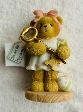 Cherished Teddies: Josette w/ Gold Key- 805610- You Are Key To My Heart Mib Nrfb