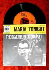 Single Dave Brubeck Quartet: Maria/Tonight (CBS CA 281 115) NL 1962