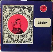 Vintage LP - Franz Shubert - Desto Records Biography Series - mono pressing