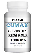 Cumax - Natural Strong Herbal Increase Volume for Men 30 Pills Bottle USA