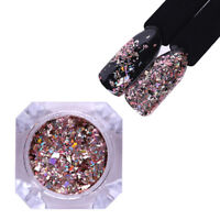 BORN PRETTY Holographisch Nagel Glittzer Sequins Paillette Nail Art Decoration