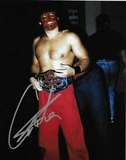 GREAT MUTA NWA WCW NEW JAPAN SIGNED AUTOGRAPH 8X10 PHOTO #4 W/ PROOF