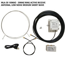 MLA-30 Loop Antenna Active Receiving Antenna 100kHz - 30MHz for Short Wave Radio