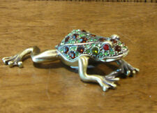 "Jeweled Trinket Box #J864 Frog, 1.25"" x 3.5"" NIB from Retail Store, Welforth"