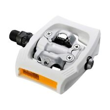 New Shimano Alivio PD-T400 Platform Pedal Set w/ SM-SH56 Cleats - White