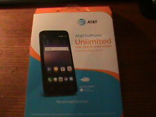 AT&T SmartPhone Alcatel Ideal 4G LTE with 8GB Memory GO Phone