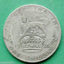 1926 George V Silver Shilling not ME variety SNo24762