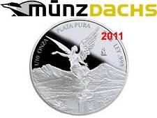 Libertad 1/10 oz .999 fine silver Proof Mexico 2011