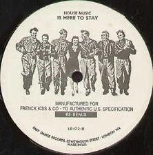 MR.FINGERS - Frenck Kiss (Re-Remix) - Easy Dance - LL-02 - 1990