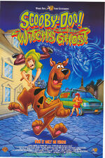 SCOOBY-DOO AND THE WITCH'S GHOST MOVIE POSTER 27x40 Video OneSheet