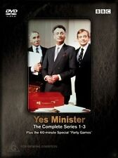 Yes Minister : Series 1-3 (DVD, 2004, 4-Disc Set)