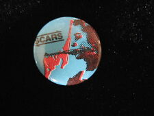 Scars-Blue-Punk-Band-Music-Small-Button-80's Vintage-Rare