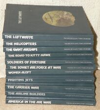 Time Life THE EPIC OF FLIGHT 11 Book Set Helicopters Airlines Air War Jets