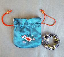 Amethyst beads,Pearls,Peridot,Swarovski crystals, Tibetan silver coiled bracelet