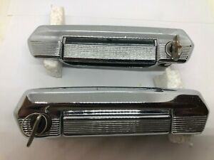 Fiat 124 125 Special Lada 2101 Front Door Handle Set with Keys Genuine NOS