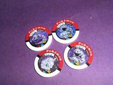 ot S10 Tomy Pokemon Figure Battrio Tretta Card Onix Set Lot of 4