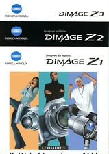 KONICA MINOLTA Kamera Prospekt DIMAGE Z1 / DIMAGE Z2 / DIMAGE Z3 Broschüre (Y909
