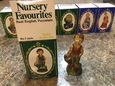 Wade of England porcelain nursery figurines