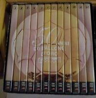 lotto COFANETTO/box+12 DVD 50 Anni Di Pallone D'oro 1956-2005 Raccolta completa