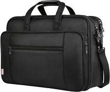 "Laptop Bag 17"" Large Business Briefcase For Men Women Travel Case Waterproof New"