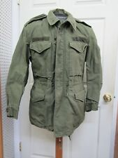 Us Og 107 Field Jacket Coat Sateen Pre Vietnam Era 1958 Dated Small Regular